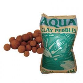 AQUA CLAY PEBBLES 45 L. (60 UNDS. PALET)